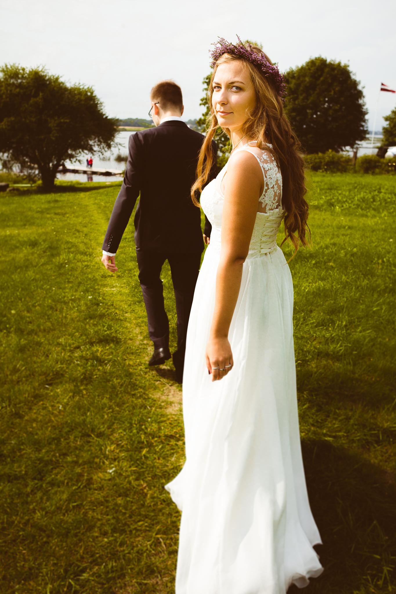Kāzas Elīna un Gatis | fotogrāfs: lindamigla.lv